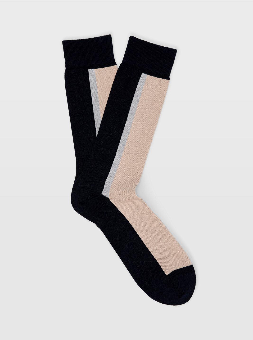 Colorblock Sock