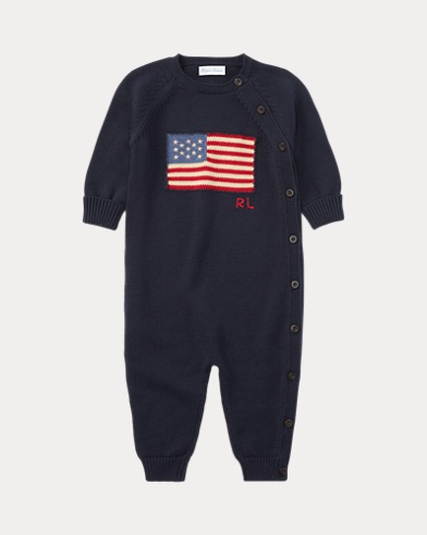 Flag Cotton Coverall