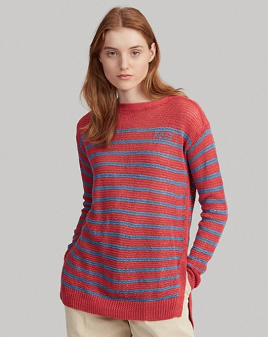 Striped Linen Jumper