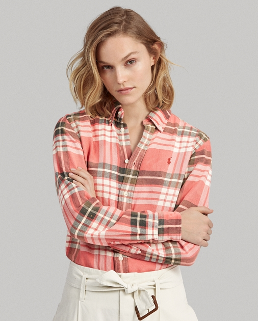 Polo RalphLauren Classic Fit Plaid Shirt