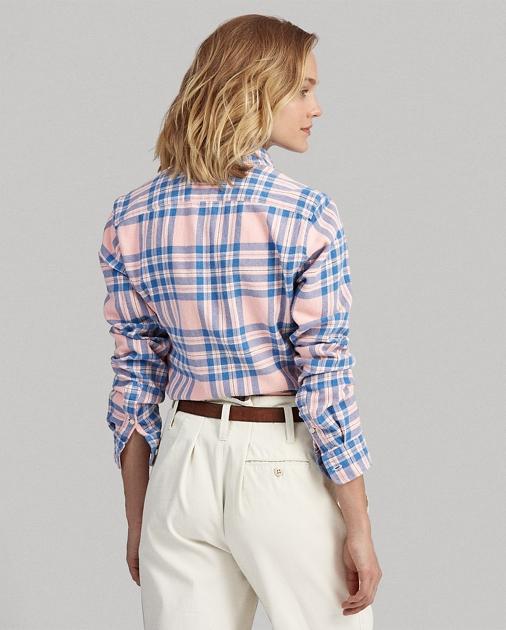 Polo Ralph Lauren Camisa de sarga a cuadros Classic Fit  4