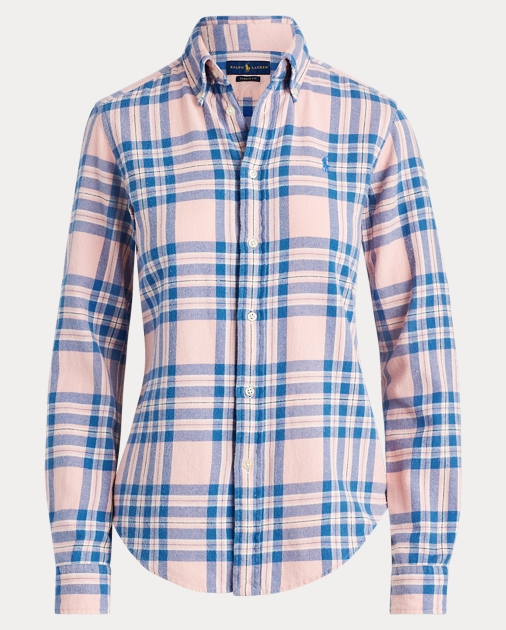 Polo Ralph Lauren Camisa de sarga a cuadros Classic Fit  2