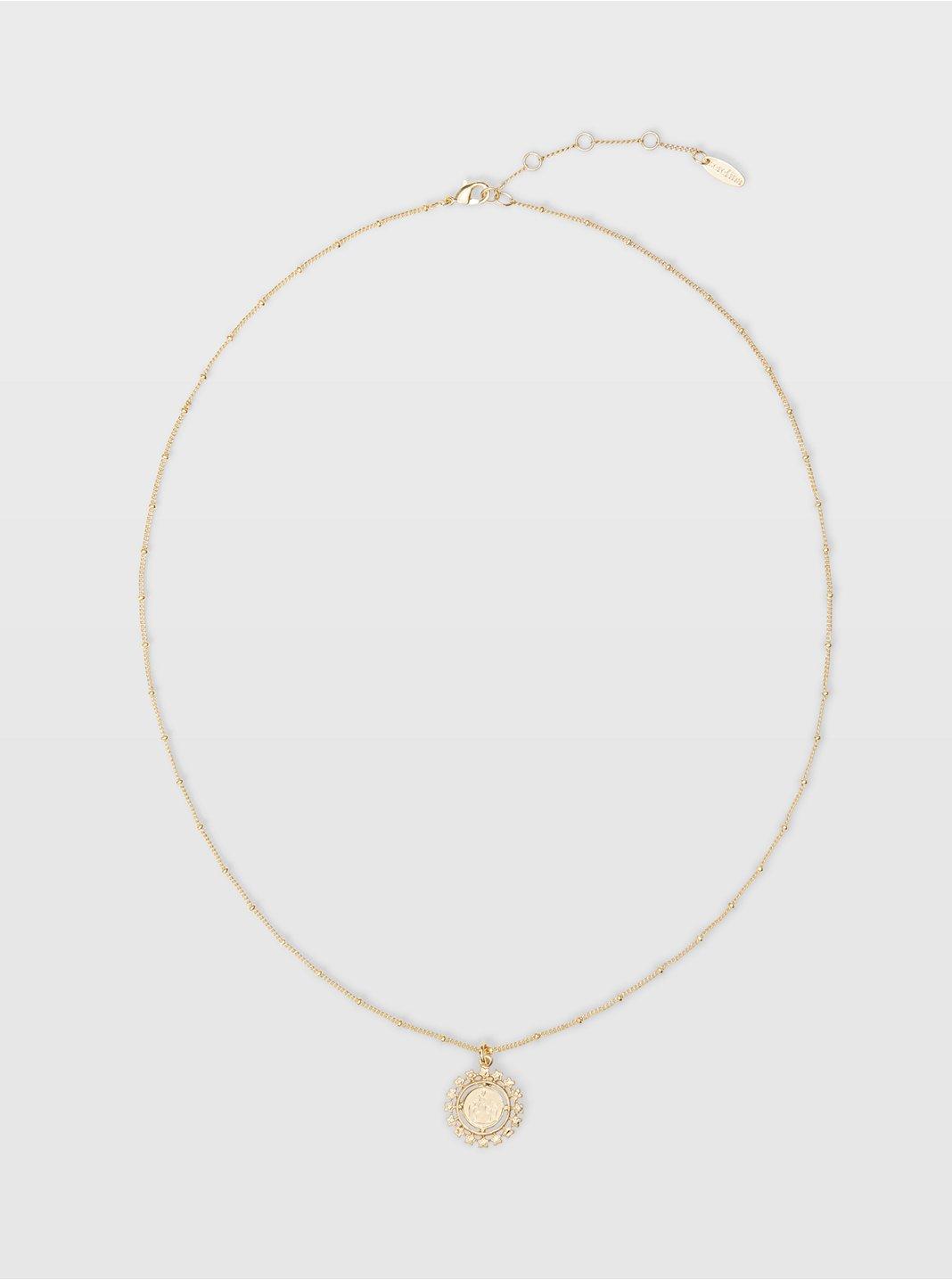 Serefina Long Coin Necklace