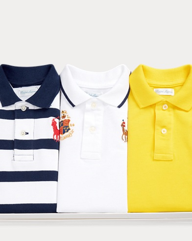 b9280d04c791 Baby Boys  Polos  Short and Long Sleeved Polo Shirts