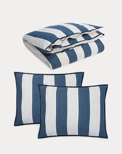 Casey Stripe Duvet Set