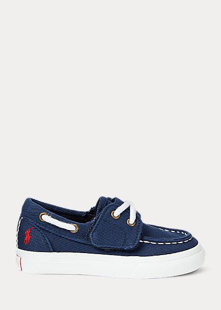 Polo Ralph Lauren Bridgeport Cotton Boat Shoe