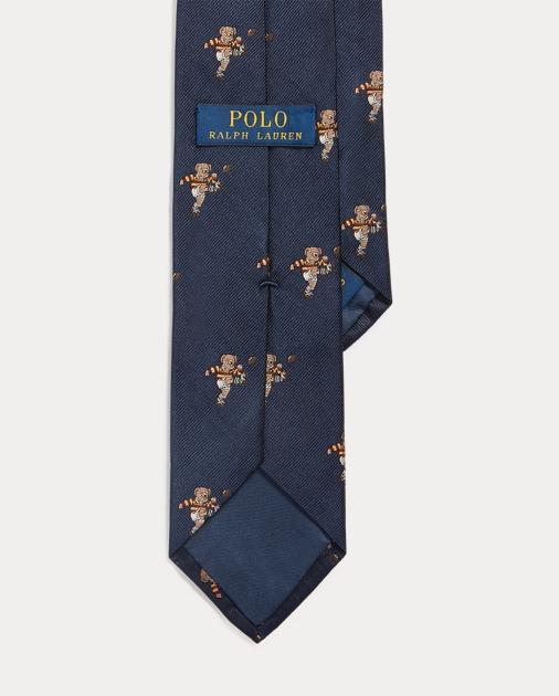 check out bc530 35fed Kicker Bear Silk Narrow Tie