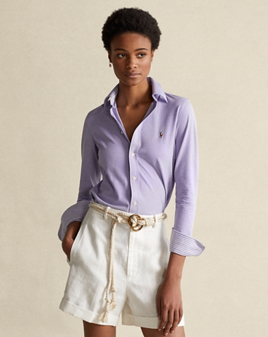 04c381d05 Women's Blouses, Button Down Shirts, & Flannels | Ralph Lauren