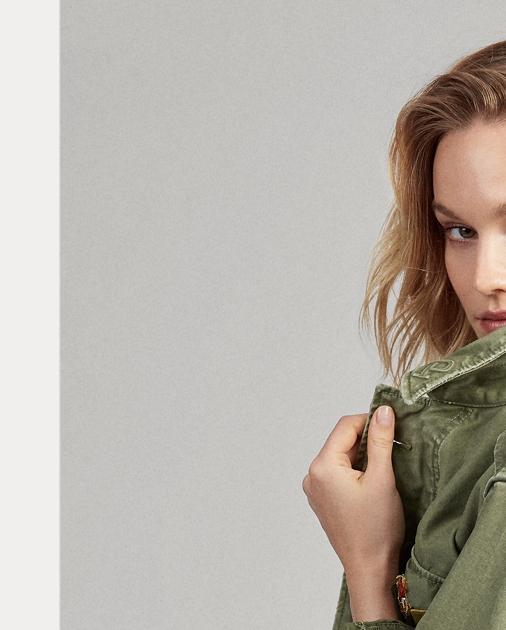 Cotton Twill Twill Military Military Jacket Cotton L34cjAq5R