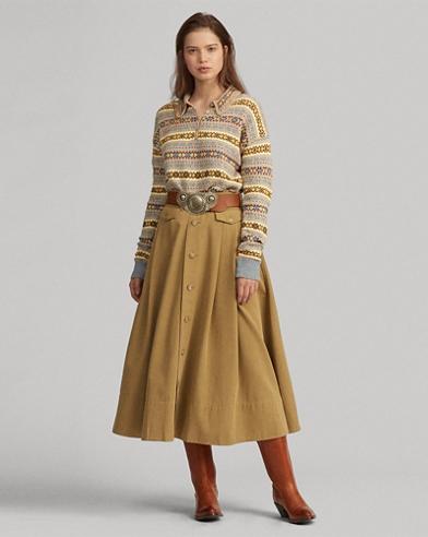b45728711 Women's Long Skirts, Maxi Skirts, & Midi Skirts | Ralph Lauren