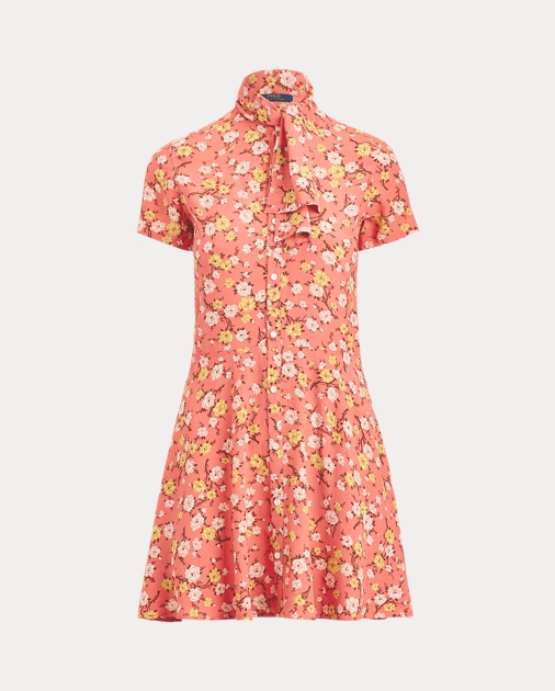 7a058c34db4a Polo Ralph Lauren Necktie Fit-and-Flare Dress 2