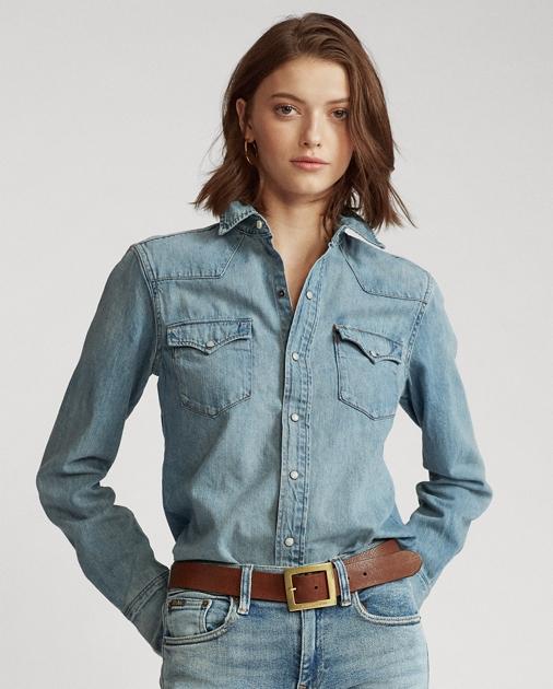Polo Ralph Lauren Denim-Westernhemd 1