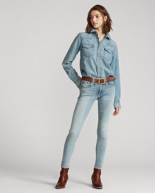 Polo Ralph Lauren Denim-Westernhemd 3