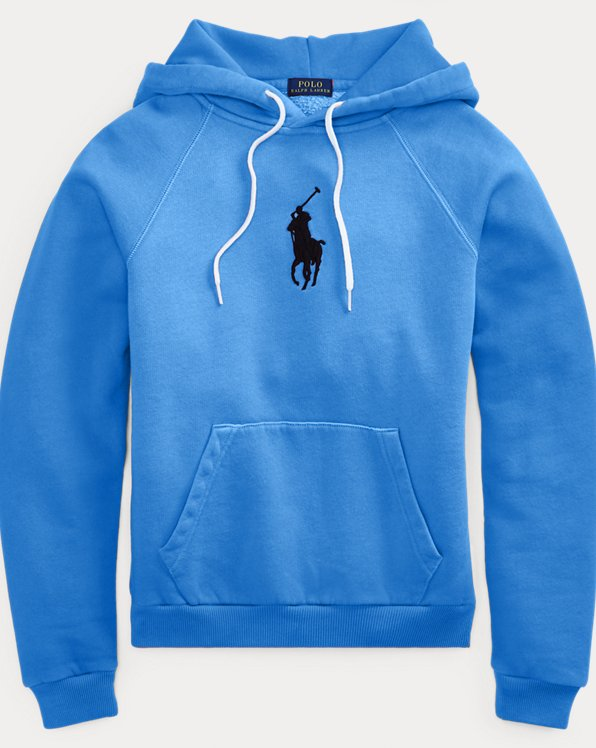 Shrunken Fit Big Pony Hoodie