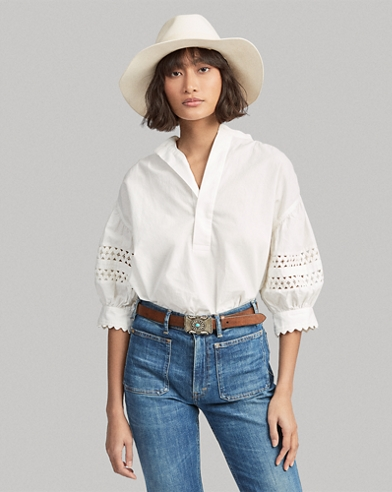 1b27f749ab4957 Women's Blouses, Button Down Shirts, & Flannels | Ralph Lauren