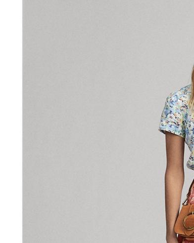 Floral Flared Miniskirt