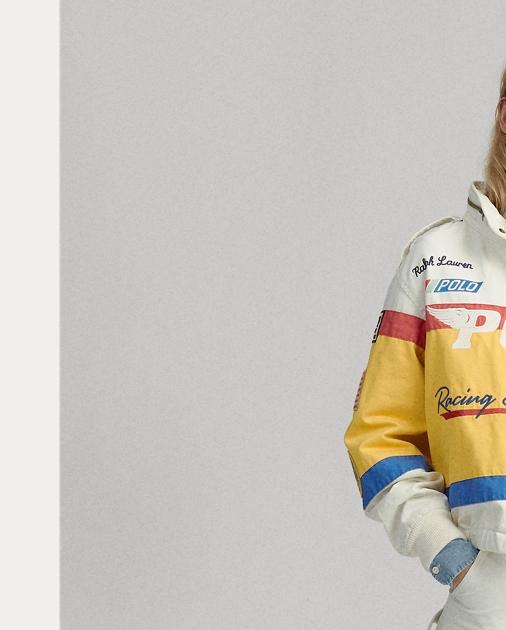 Jacket Cotton Racing Racing Canvas Jacket Cotton Canvas Racing Cotton Canvas IgmYyf76bv