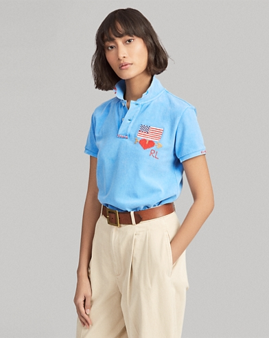 Classic Fit Embroidered Polo