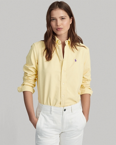 646aeb2384bd47 Women's Blouses, Button Down Shirts, & Flannels | Ralph Lauren