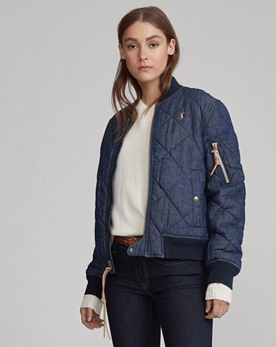 Women's Leather & Denim Jackets: Casual & Lightweight