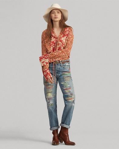 4ba091ba4fd856 Women's Designer Jeans in Skinny & Straight Leg | Ralph Lauren