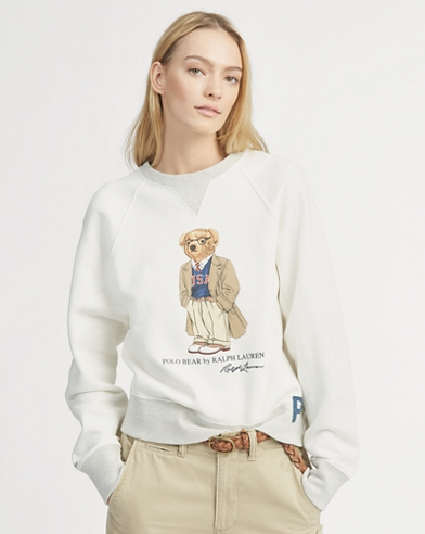 USA Polo Bear Pullover