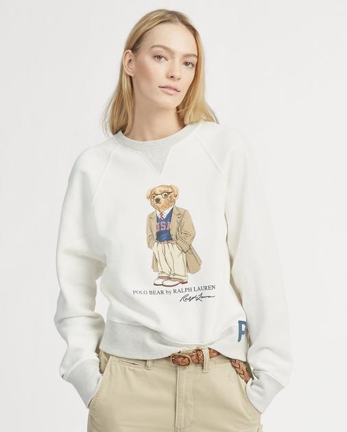 USA Polo Bear Pullover