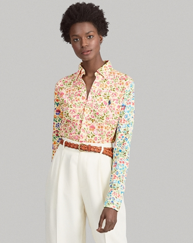 45694a94 Women's Blouses, Button Down Shirts, & Flannels | Ralph Lauren