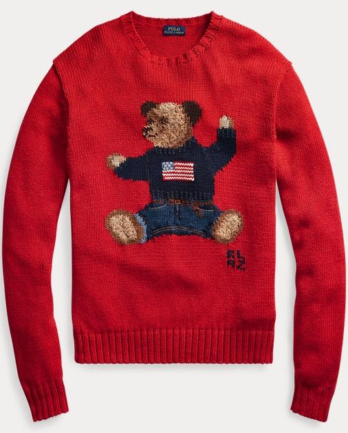 Polo Bear Cotton Linen Sweater