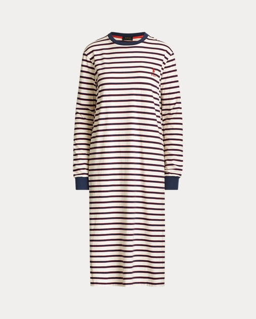 detailed pictures dfc95 f7779 Striped Cotton Tee Dress