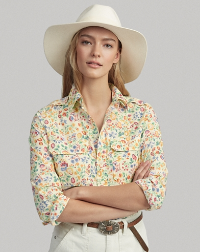 95e62971 Women's Blouses, Button Down Shirts, & Flannels | Ralph Lauren