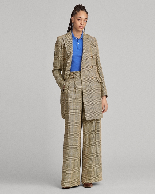 Polo Ralph Lauren Glen Plaid Linen Blazer 1