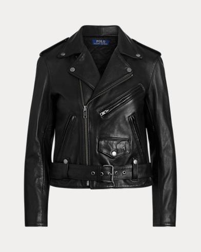 Sheepskin Moto Jacket