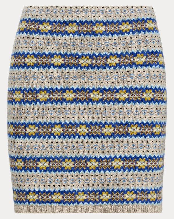 Fair Isle Miniskirt