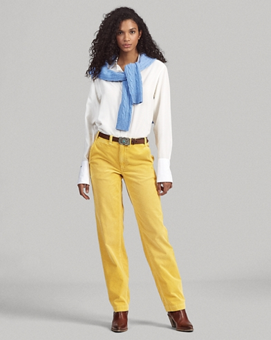 6e0636f3ede727 Women's Pants, Leggings, Joggers, & Chinos | Ralph Lauren