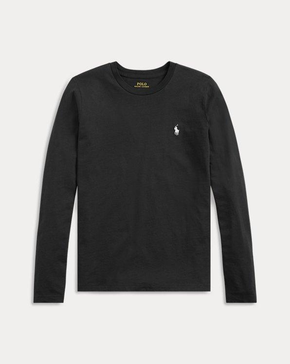 Chemise en jersey à manches longues