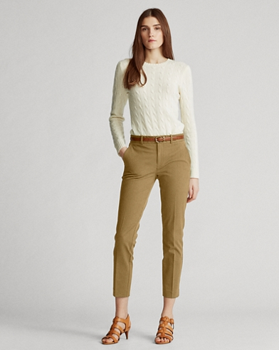 Pantalon en sergé bi-stretch