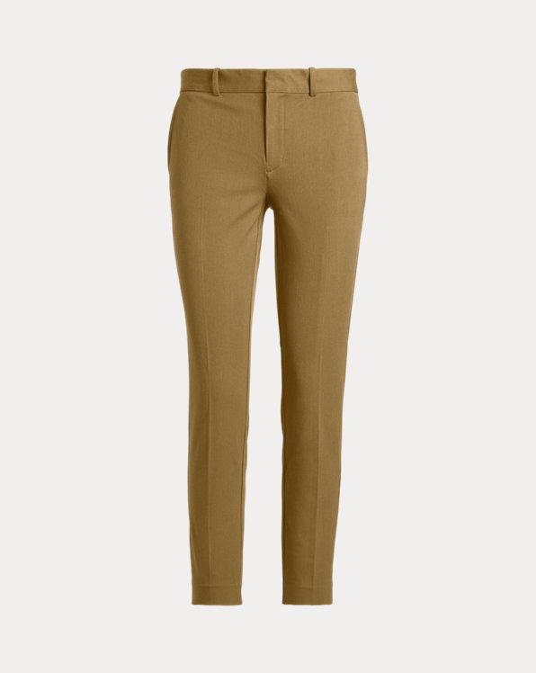 Pantaloni in twill bi-stretch