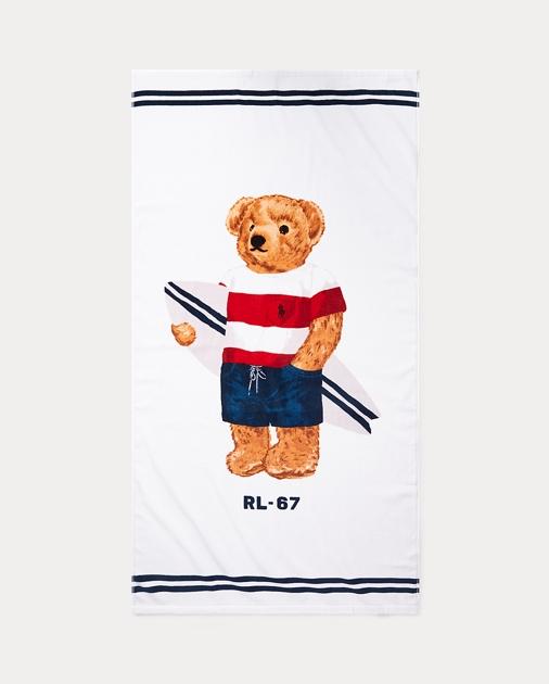 Polo Bear Beach Towel