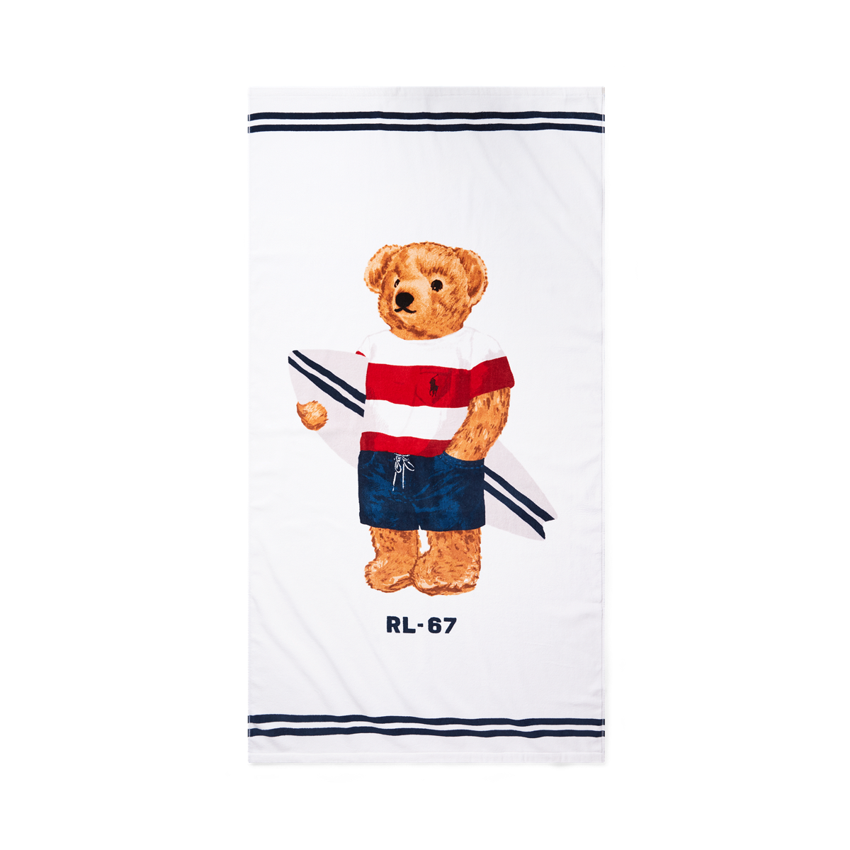 Ralph Lauren Greek Isles Beach Towel: Polo Bear Beach Towel