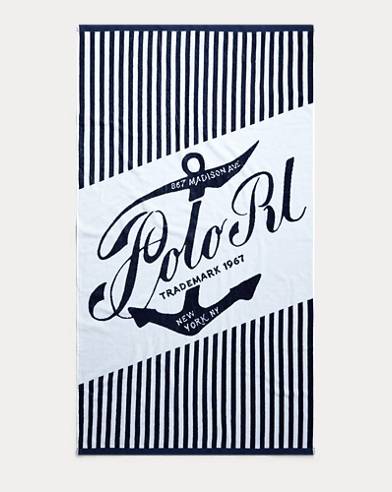 Anchor Beach Towel
