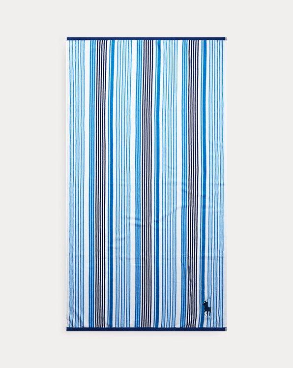 Darby Striped Beach Towel