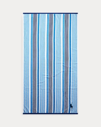Darby Striped Beach Towel