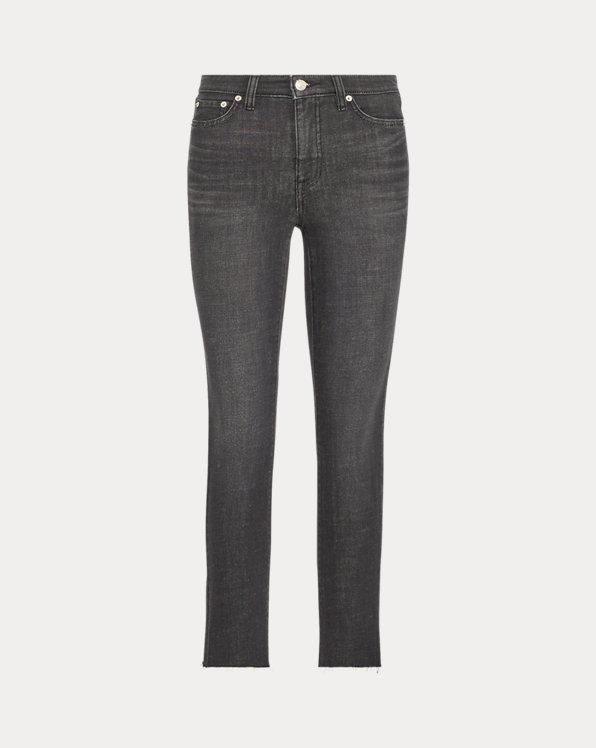 Gerade 3/4-Jeans Regal