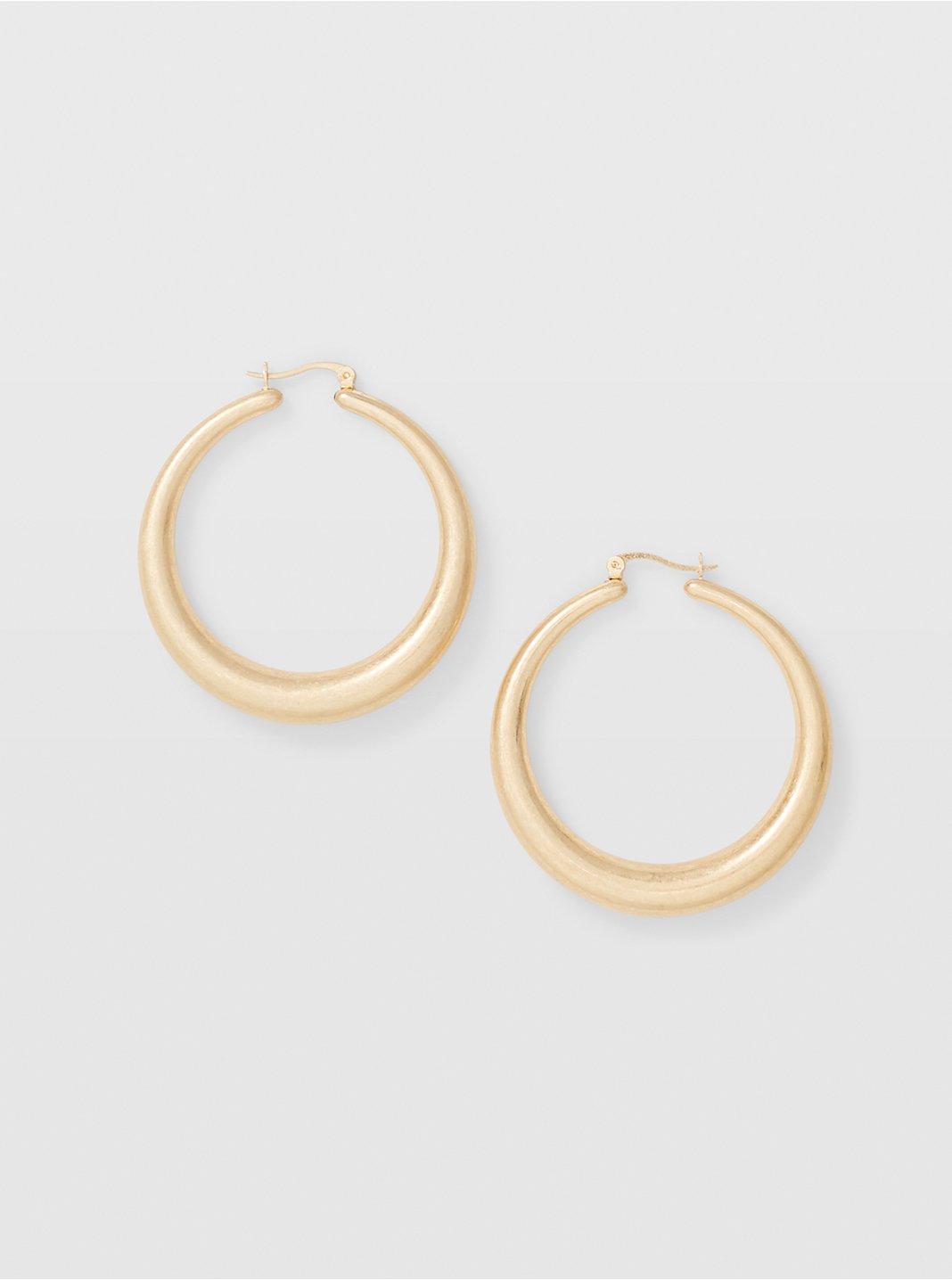 Matte Hoop Earring