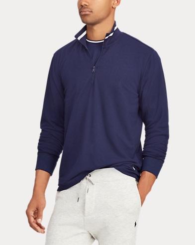 Terry Half-Zip Pullover
