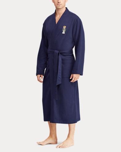 Polo Bear Fleece Robe