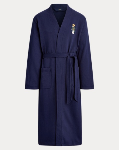 Polo Bear Fleece Robe