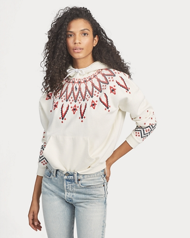 Fair Isle Fleece Sweatshirt