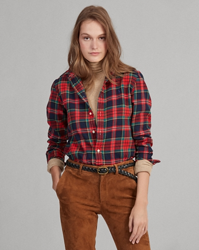 2000ca284c7 Women's Blouses, Button Down Shirts, & Flannels | Ralph Lauren